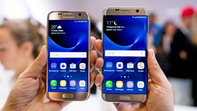 Galaxy S7 все еще обновляется