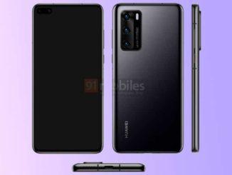 Huawei P40: mostrate le prime immagini ufficiali
