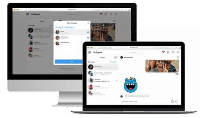 Instagram ti permetterà di inviare messaggi diretti sul web