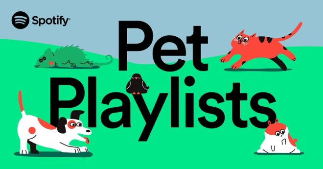 Spotify Pets: плейлист для вашего питомца
