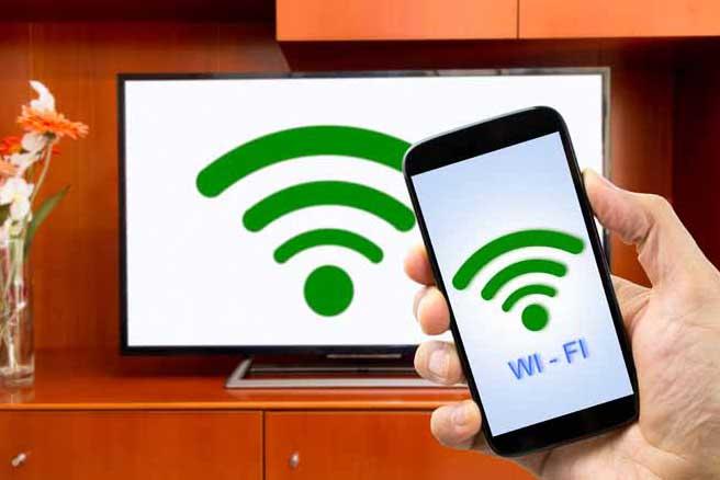 подключите Android-смартфон к телевизору