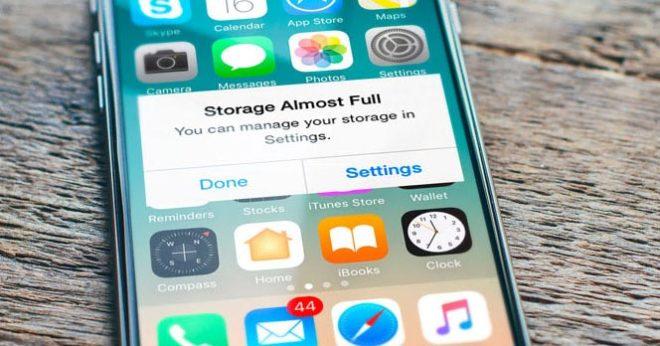 Как освободить место на вашем iPhone
