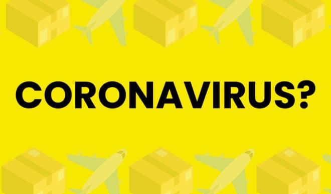 Коронавирус может распространяться через посылки из Китая