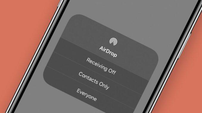 Come risolvere AirDrop non funziona