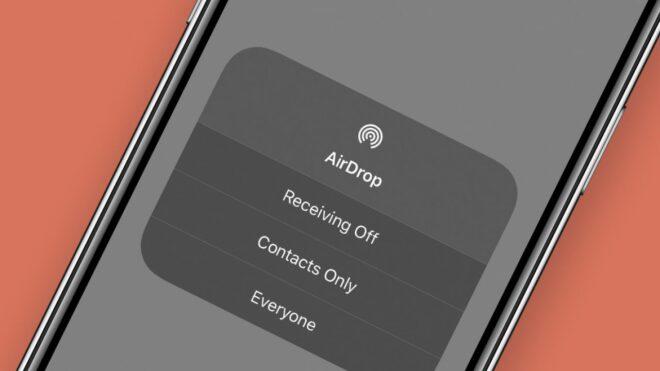 Как исправить неработающий AirDrop