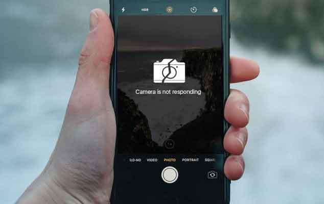 камера айфона не работает