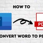 Come convertire un documento Word in PDF