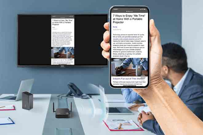 Come collegare il telefono a una TV in modalità wireless