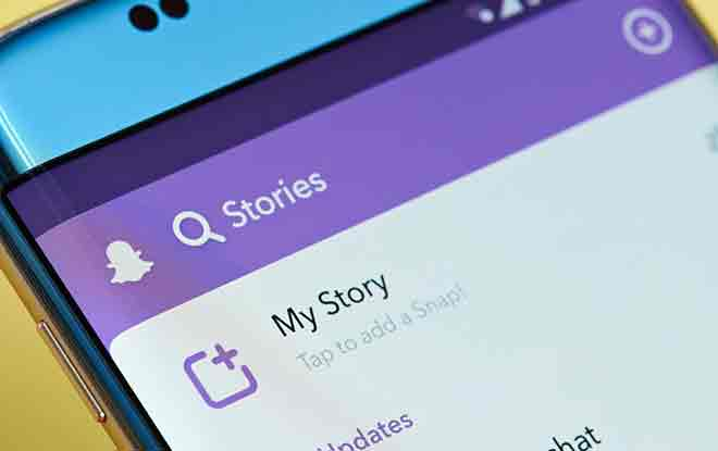 Как создать личную историю Snapchat