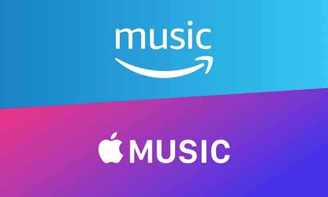 Amazon Music против Apple Music