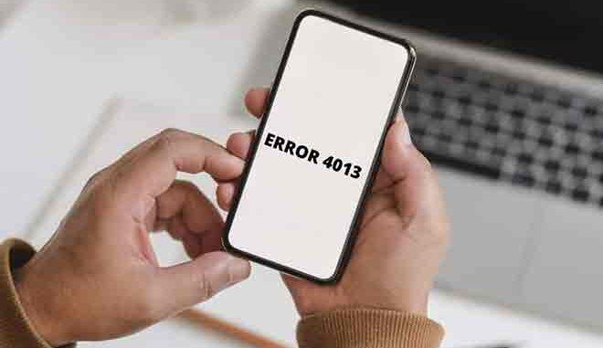 Come risolvere l'errore iPhone 4013