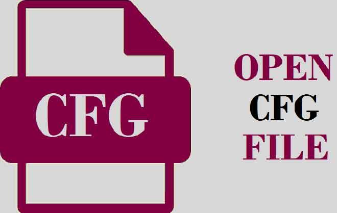 Что такое файл CFG и как его открыть в Windows и Mac