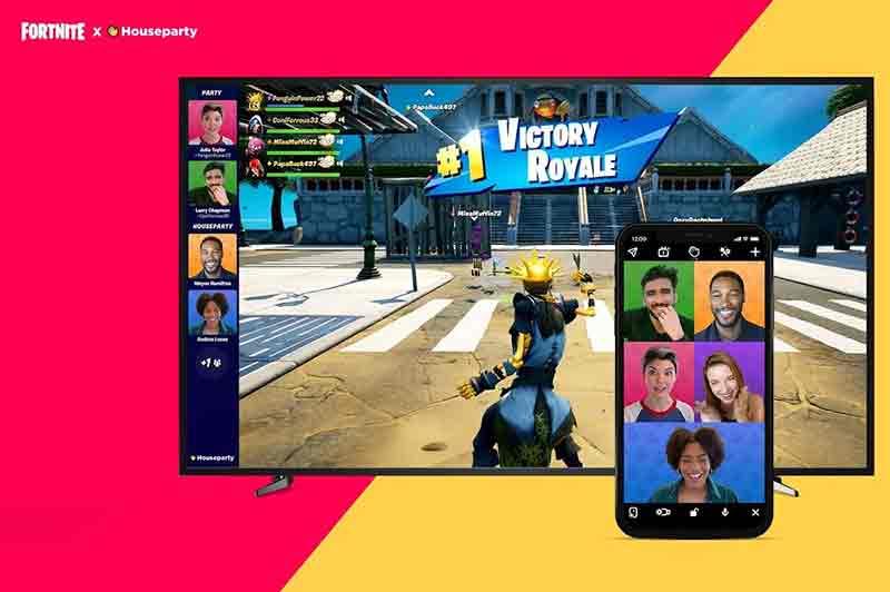 Видеозвонки в Fortnite теперь возможны с Houseparty
