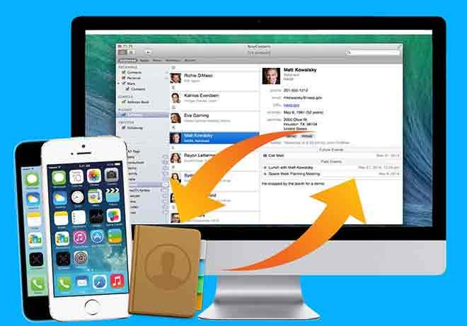 Как синхронизировать контакты с iPhone на Mac