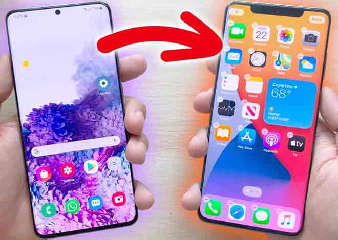 Этот лаунчер превращает ваш мобильный телефон Android в iPhone с iOS 14.