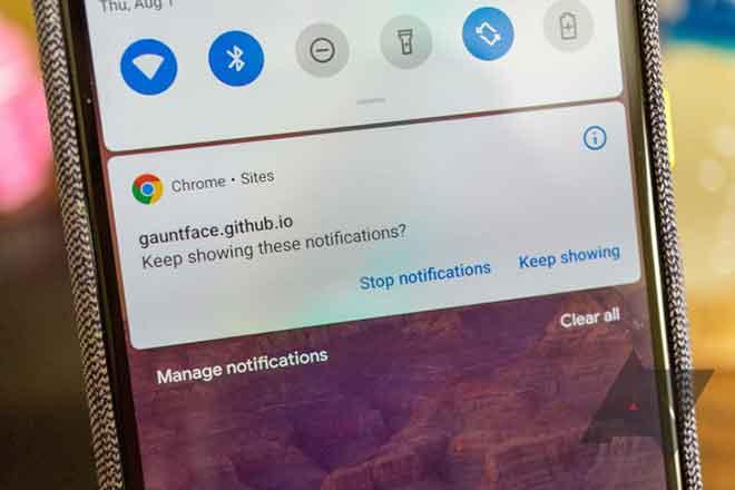 Как отключить уведомления из Google Chrome