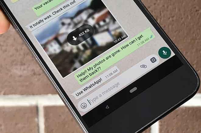 Come eliminare le foto di WhatsApp da iPhone e Android