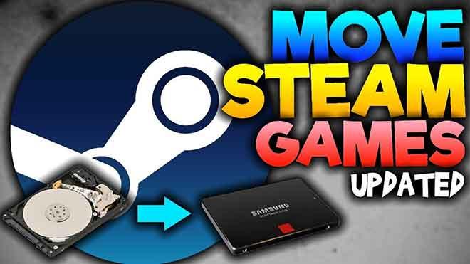 Come spostare i giochi Steam su un'altra unità