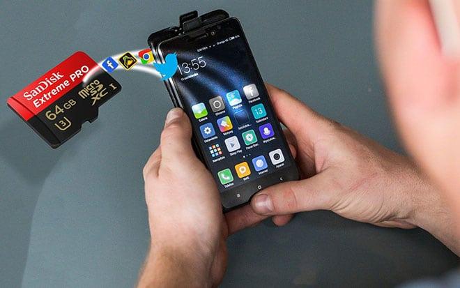 Как перенести приложения на SD-карту на Android