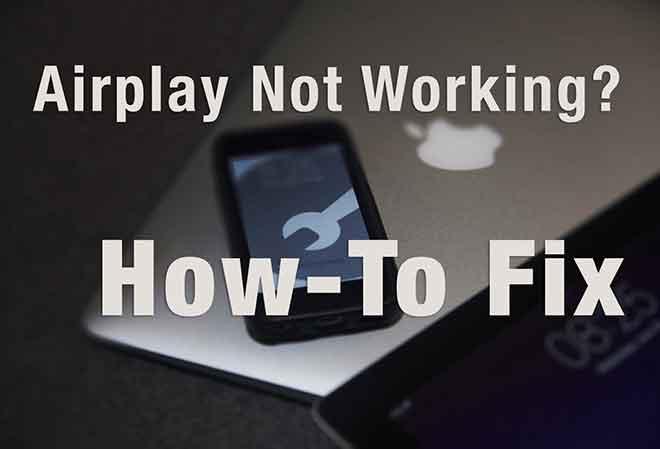 AirPlay не работает