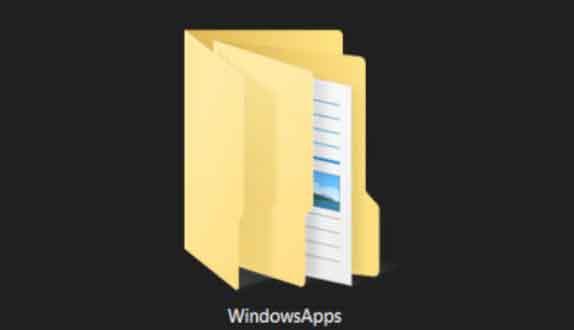 Как получить доступ к папке приложений Windows в Windows 10