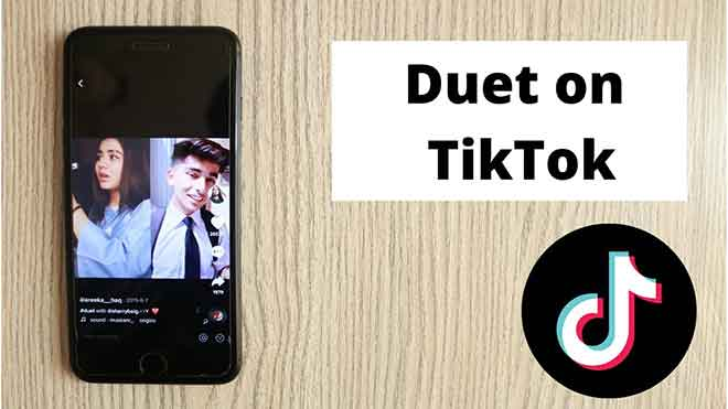 Как играть дуэтом в Tiktok