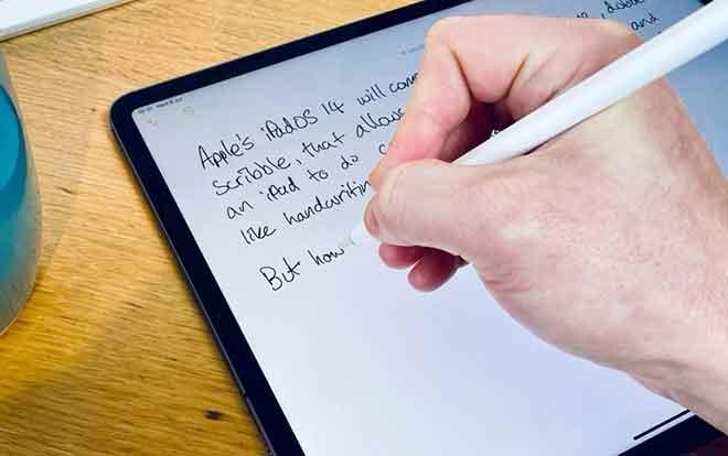 Как исправить Scribble, не работающий на iPad