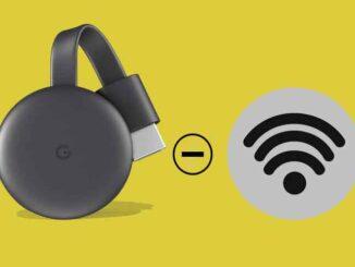 Come utilizzare Chromecast senza WiFi