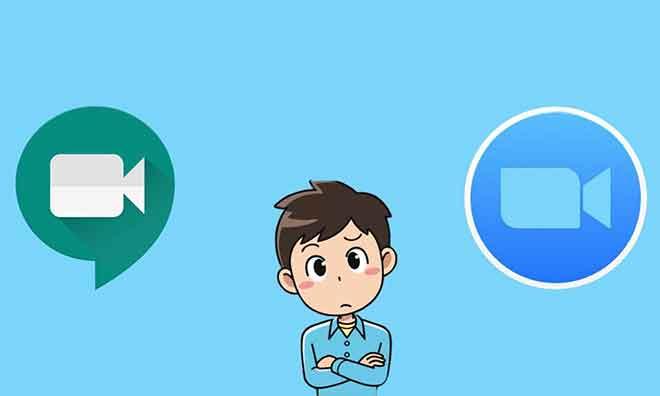 Google Meet против Zoom