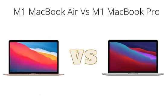 M1 MacBook Air против M1 MacBook Pro