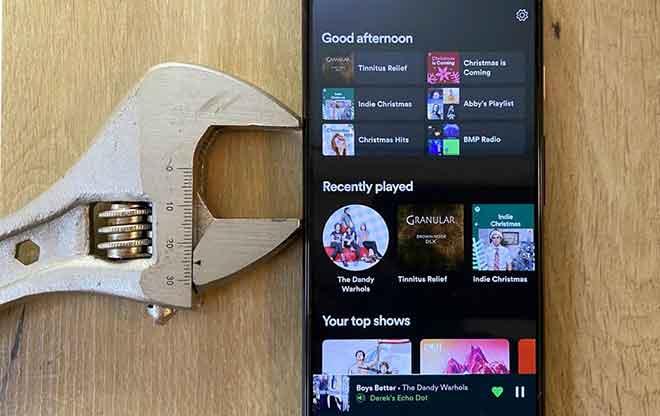 Spotify non riproduce brani