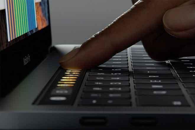 MacBook Touch Bar не работает