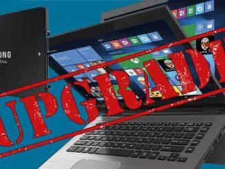 aggiornare un vecchio laptop