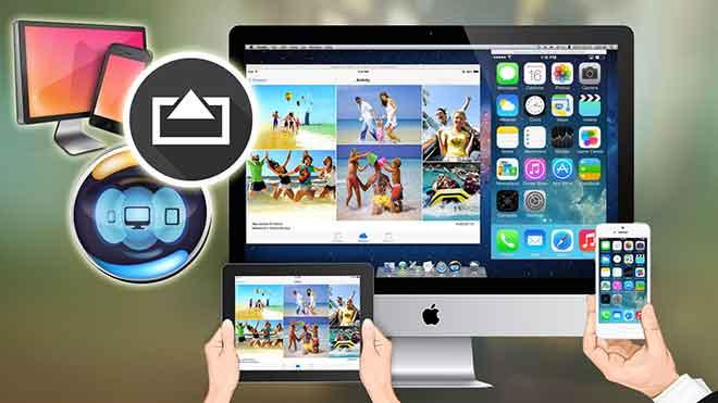 приложение для зеркального отображения экрана на Android