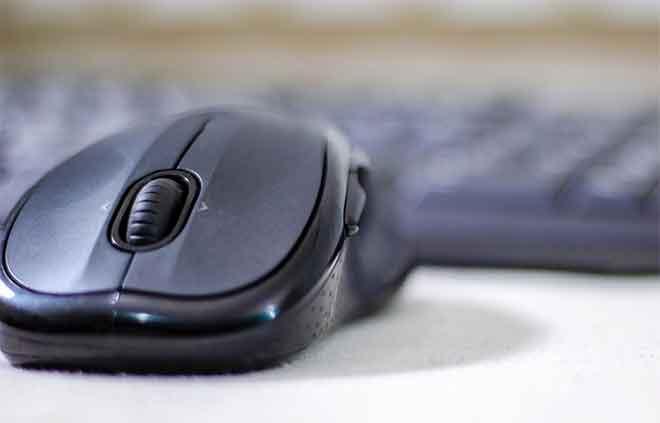mouse wireless non funziona