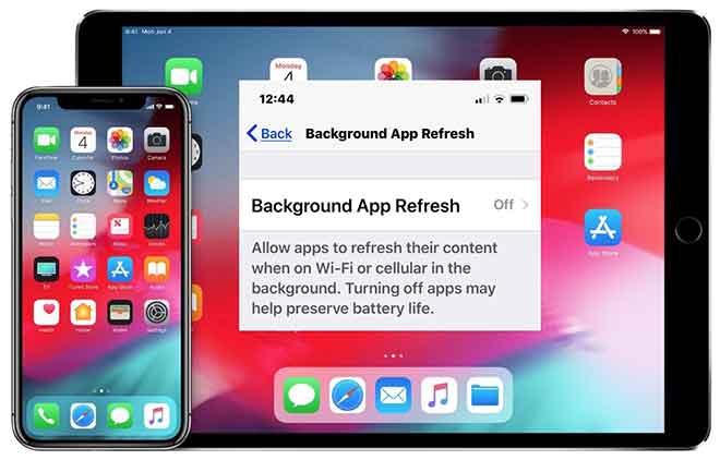 Che cos'è l'aggiornamento delle app in background su iPhone?