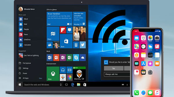 hotspot iPhone non funziona su Windows