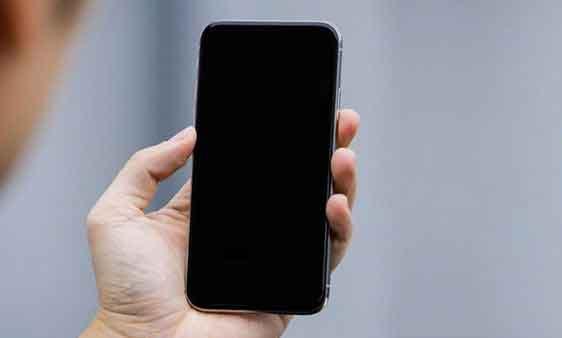 problemi di schermo nero di iPhone