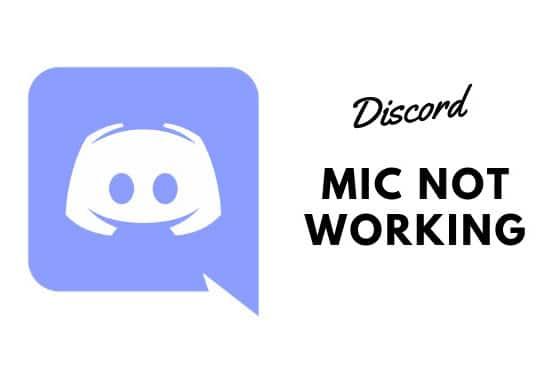 Микрофон Discord не работает