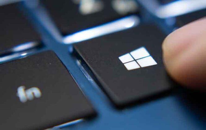 Клавиша Windows не работает в Windows 10