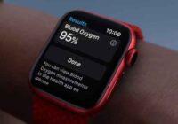 monitorare i livelli di ossigeno nel sangue con Apple Watch