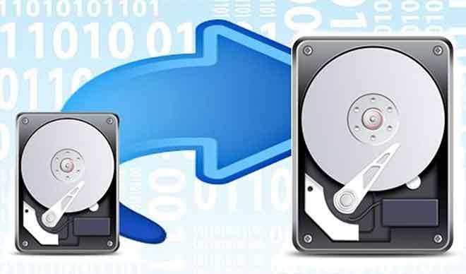 переместить Windows 10 на новый жесткий диск