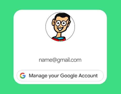 Come modificare l'account Google predefinito