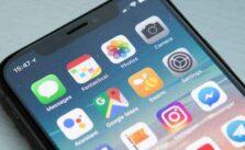 Значок контактов iPhone исчез