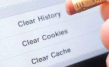 очистить файлы cookie и кеш в Microsoft Edge Chromium