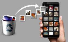 Восстановить удаленные фотографии на Android через