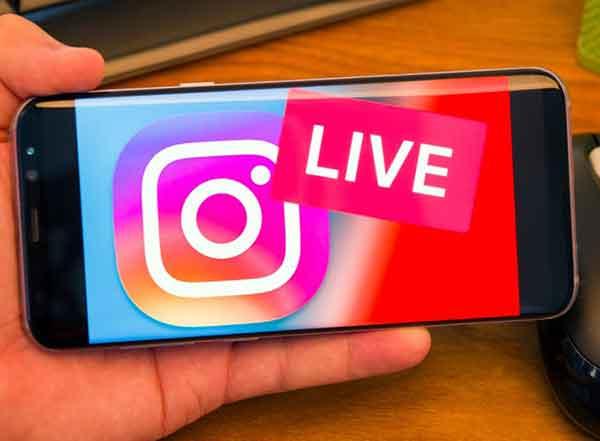Как выйти в прямом эфире в Instagram