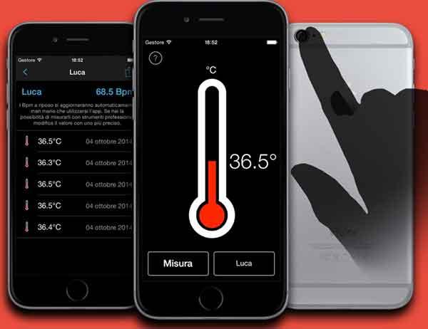 приложение для термометра для iPhone