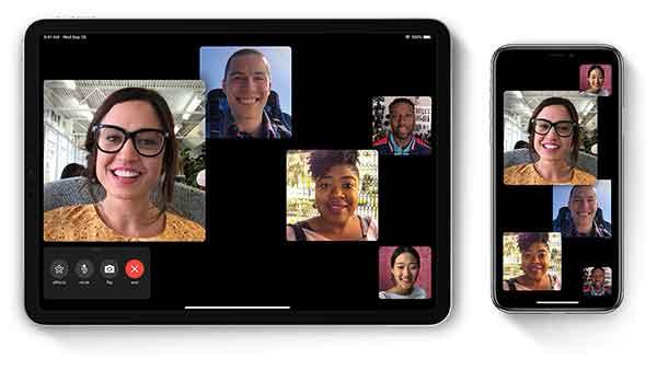 сделать конференц-звонок на iPhone