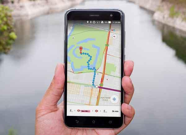 Карты Google не работают